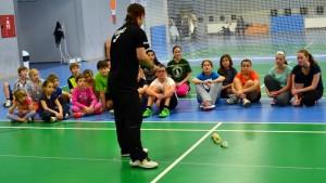 ZKOUŠKY V LETŇANECH se zúčastnilo 22 žáků badmintonové školy